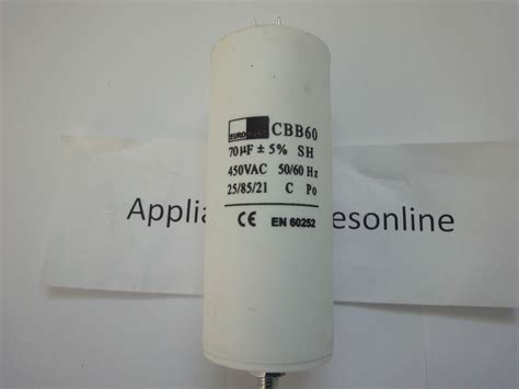 jun air capacitor universal 70 uf mfd motor start capacitor air conditioning unit etc ebay