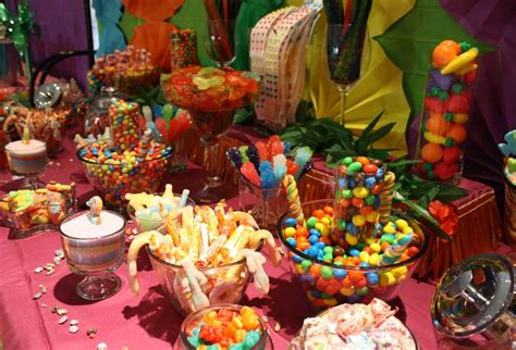16 Best Images About Luau Party Tropical Candy Bar Buffet Buffet Hawaii