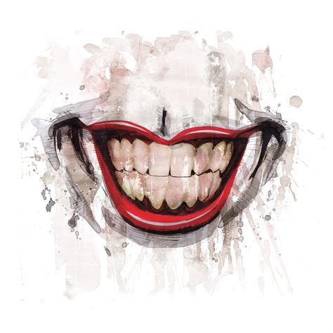 joker smile tattoo joker smile by joelgomez on deviantart