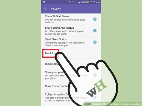 block mobile how to block mobile numbers in viber 8 steps with pictures