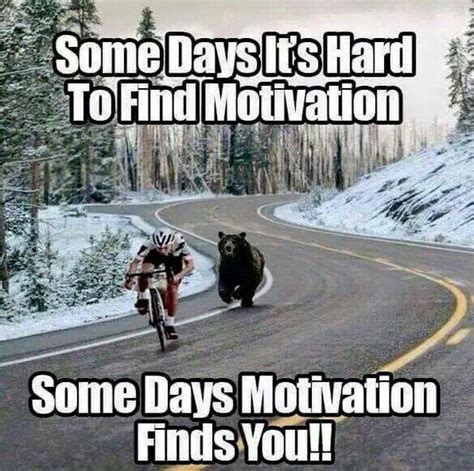Motivational Fitness Memes - some days it s hard to find motivation some days