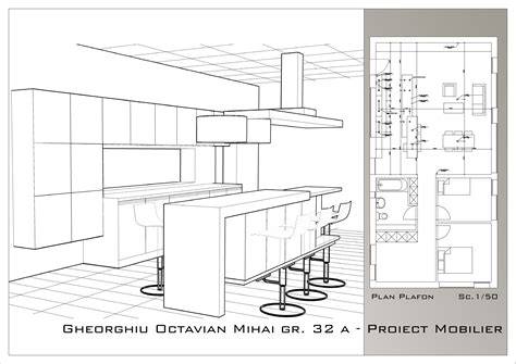 Kitchen Project kitchen furniture project design by octavian gheorghiu