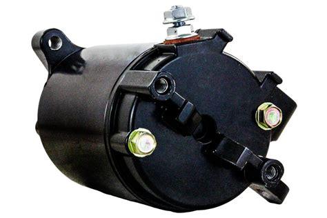 new starter motor evinrude outboard e115tsx e90pl ficht v4