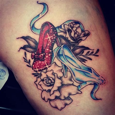 wizard of oz ruby slippers tattoo www pixshark com