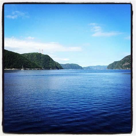 fjord canada saguenay fjord quebec canada landscapes pinterest