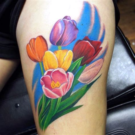 tulip tattoos tulip images designs