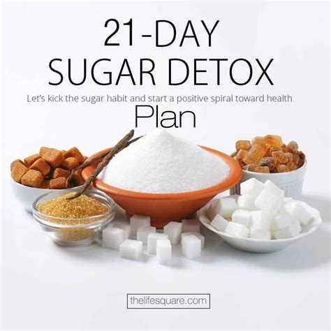 Simple 21 Day Detox by Lower Your Sugar Craving With A Sugar Detox