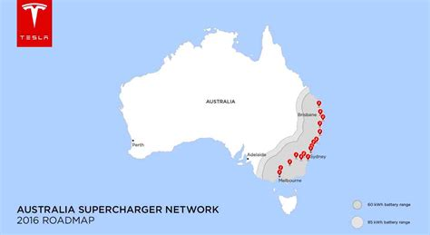 Tesla Charging Stations Australia Tesla Chooses Site Of Renewable Chargers In