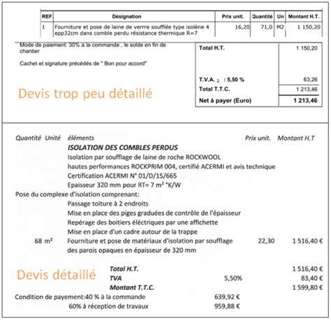 Devis Isolation Des Combles 2175 by Le Cr 233 Dit D Imp 244 T Isolation 2018 Conseils Thermiques