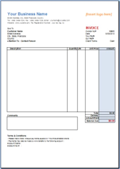 Resume Template Excel 2007 Invoice Template Excel 2007 Free Excel Templates