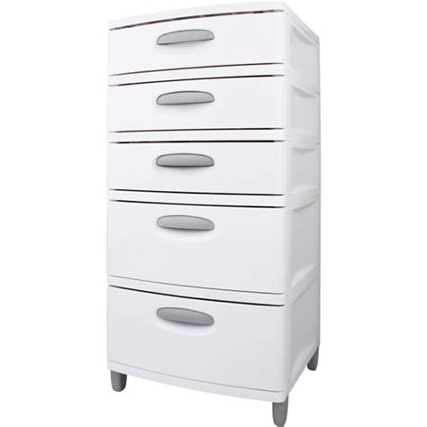 Sterilite 5 Drawer Storage Cart by Sterilite 5 Drawer Storage Unit Walmart