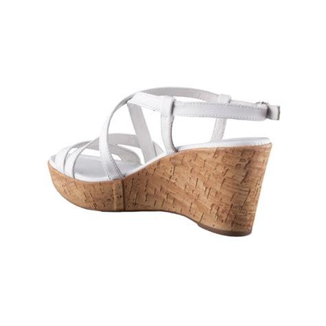 comfortable white sandals nero giardini tigri women s leather wedge heel platform