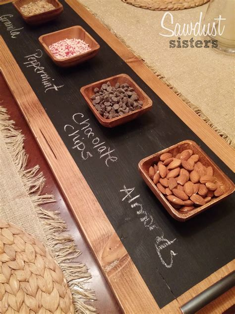 Diy Tray diy chalkboard serving tray sawdust sisters
