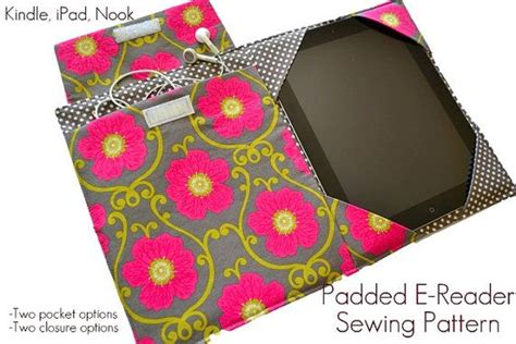 sewing pattern kindle cover ipad cover pattern easy sewing pattern pdf ipad ipad