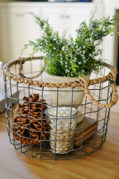 31 cool crafts made with baskets diy