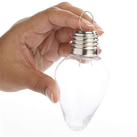 light bulb ornaments acrylic fillable light bulb ornament top sellers
