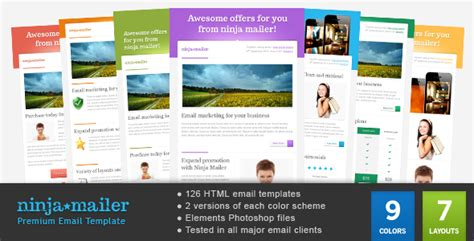 How To Design A Mailer Templates mailer premium email template by gifky themeforest