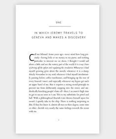 novel page layout basic layout comparison using chapter titles and paragraph