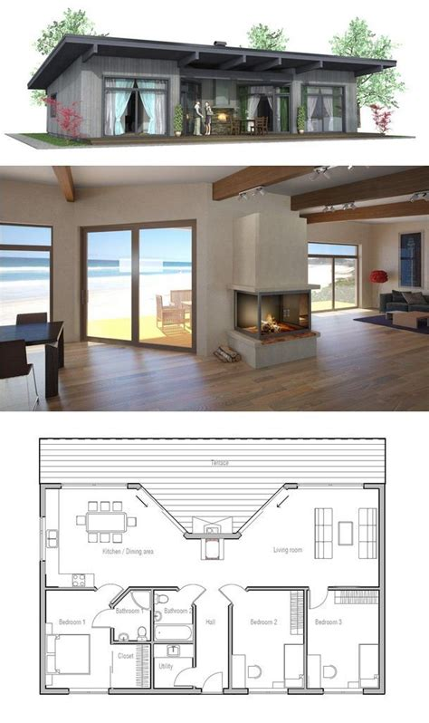 tiny home house plans 25 best ideas about small beach houses on pinterest
