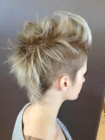 mohawk hair long in the front mohawk girl hawk ombre short hair short foils