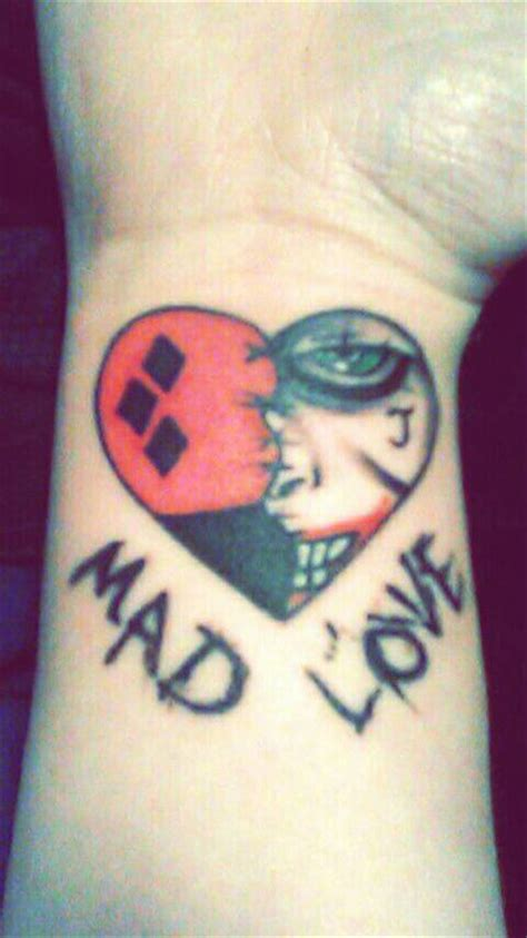 mad joker tattoo designs joker and harley quinn tattoo my seventh one by