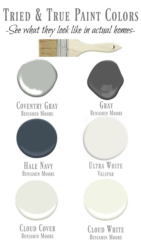 paint colors friday favorites starts with my tried true paint colors