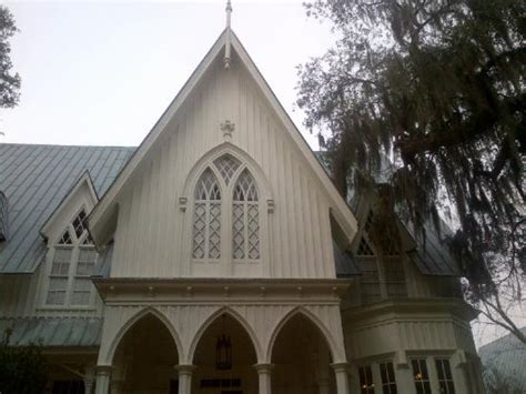 gothic revival style live oaks hanging with spanish moss picture of rose