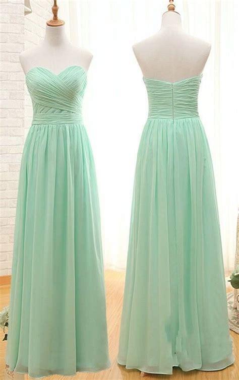 Mint Green Bridesmaid Dress by Best 25 Mint Green Bridesmaids Ideas On Mint