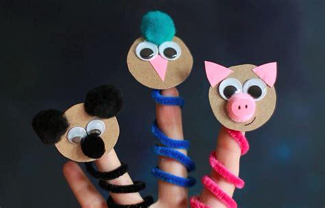 finger puppets diy diy animal finger puppets crafts for