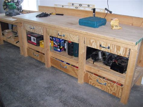 work bench shelves how to make a workbench with drawers elegant kee kl work bench with drawers this