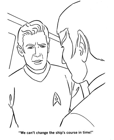 trek coloring pages spock and kirk coloring page a trek