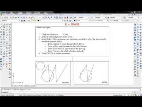 basic autocad tutorial youtube basic autocad commands visit http ashcad com for more