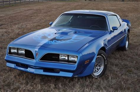 Blue 78 Trans Am by 77 78 Bird Trans Am This Blue On Blue Is So Much