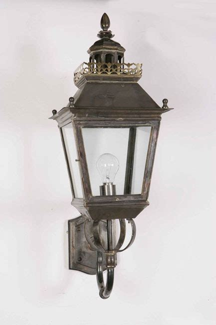 Period Outdoor Lighting Chateau Replica Period Outdoor Wall Light Solid