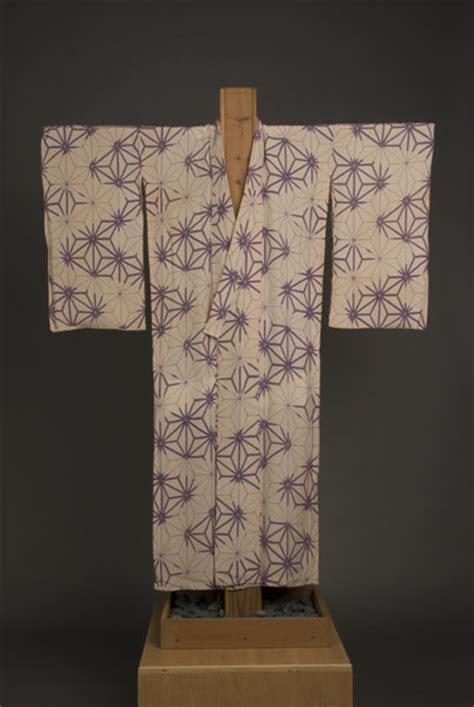 asanoha pattern history beige woman s kimono with purple asanoha hemp leaf
