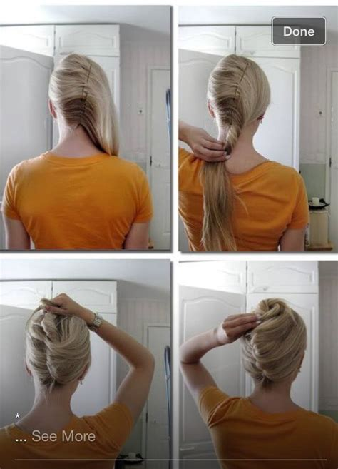 best hairdo for a flight attendant french roll hair pinterest prom and french