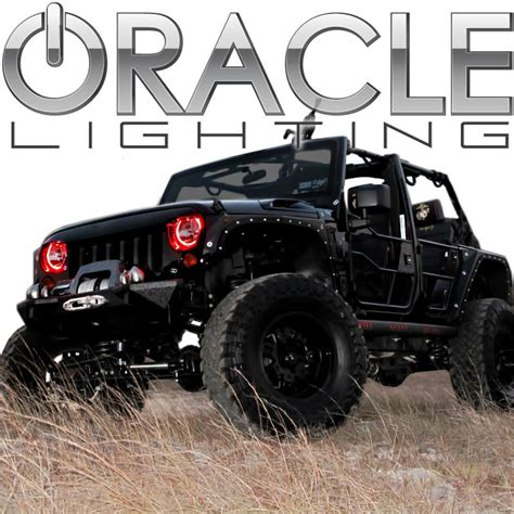 halo jeep wrangler 2007 2013 jeep wrangler jk oracle halo kit