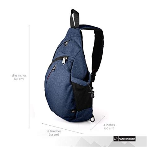 Sling Bag Import Permata outdoormaster sling bag small crossbody backpack for import it all