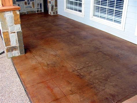 sted concrete kitchen floor stained concrete interior