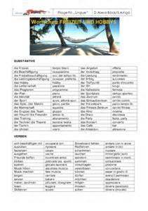 Wortschatz Lebenslauf Hobbys Freizeit Lebenslauf Formyourself De