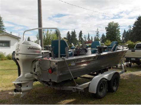 used welded aluminum boats for sale bc 18ft daigle welded aluminum boat outside nanaimo