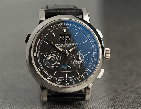 a and on the a lange s 246 hne datograph perpetual tourbillon time and tide watches
