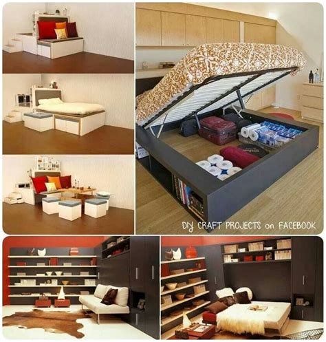 space saving storage ideas bedroom 206 best images about condo space saving ideas on