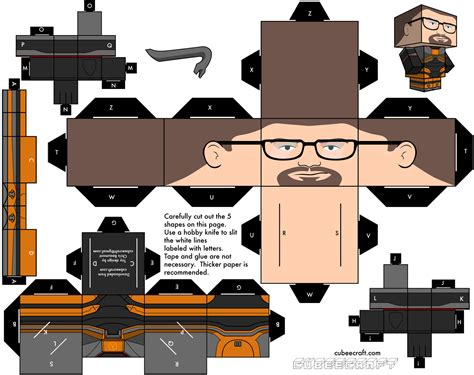 Headcrab Papercraft - papercraft des activit 233 s manuelles pour vos vacances