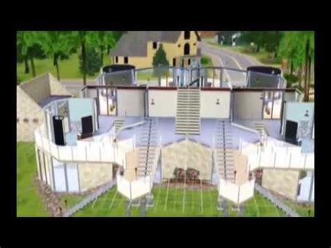 cool sims 3 house designs the sims 3 cool house design octiview youtube
