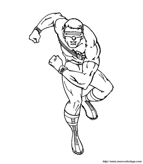 marvel iceman coloring pages colorare x men disegno 010