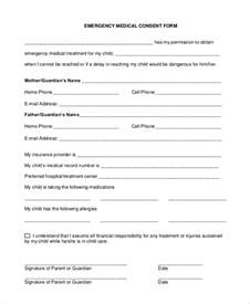 consent form template for children sle consent form 9 exles in pdf word