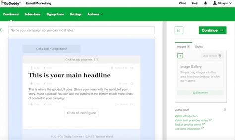designing an email template designing email templates themes the garage