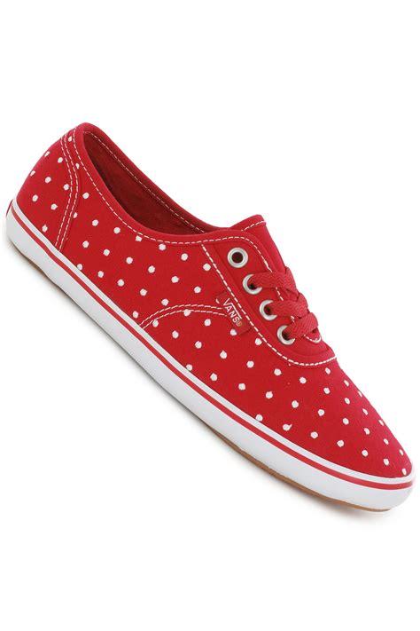 vans cedar shoe polka dot true white buy at