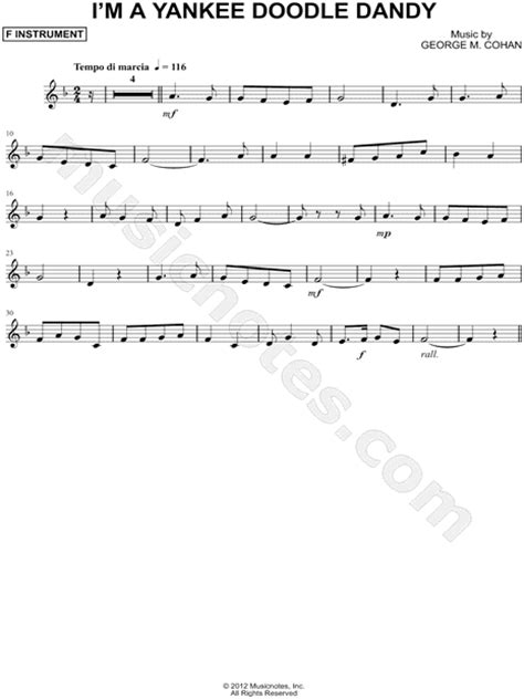 doodle do do lyrics quot i m a yankee doodle dandy f instrument quot from yankee